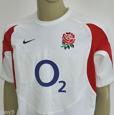 Superb rare 2005 vintage nike #short sleeved england #rugby team #shirt top l vgc,  View more on the LINK: http://www.zeppy.io/product/gb/2/291749770545/