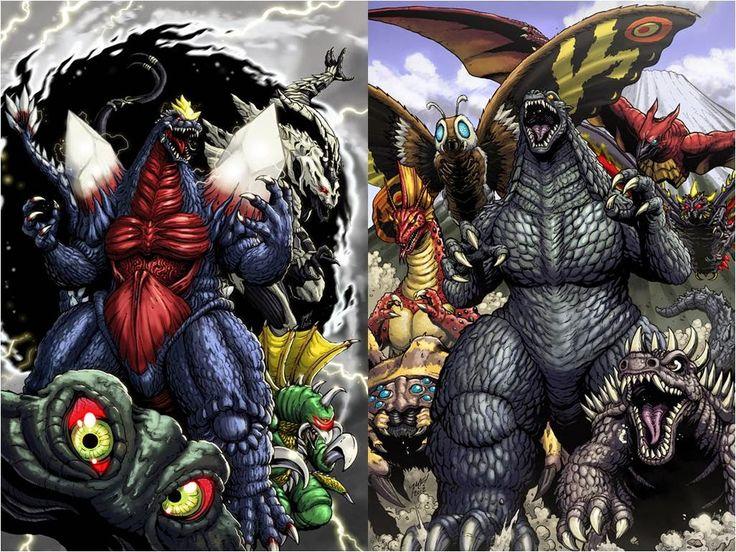 Godzilla IDW Comics | Monstruos gigantes aparecidos en Godzilla, de IDW:
