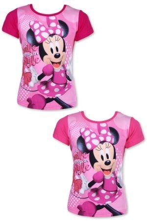 c65eabec978e Letný set tričko + kraťasy Minnie Mouse ružová farba