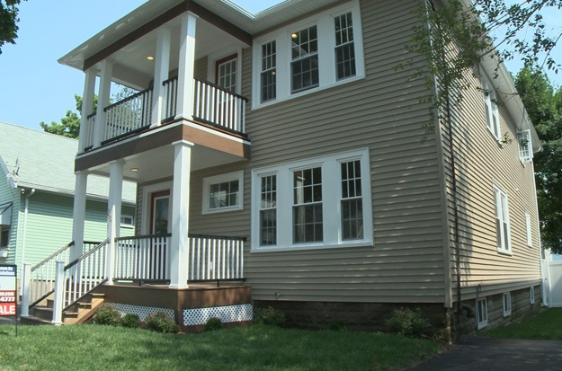 After: Home exterior in Season 2 Episode 5