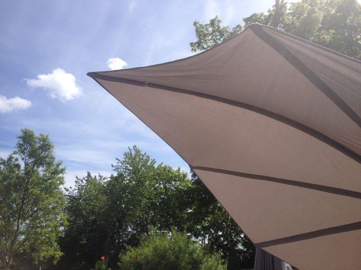 Icarus parasol,  Umbrosa, #garden furniture, #Lifeform.dk