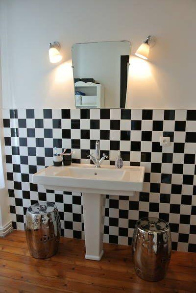 17 meilleures images propos de deco salle de bain sur pinterest carrelage mural tuile et euro - Carrelage mural salle de bain porcelanosa ...