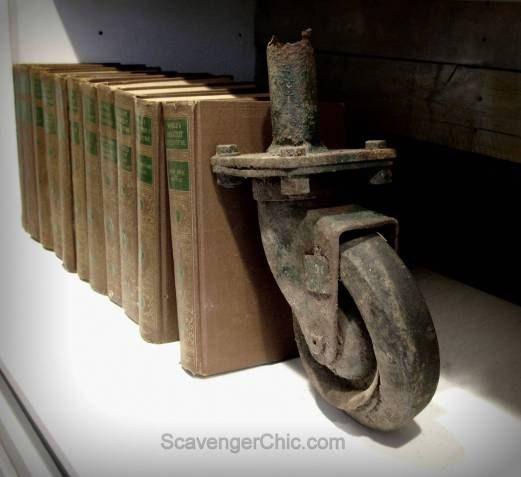 Repurposed Books and a Secret Hiding Place...Shhhh