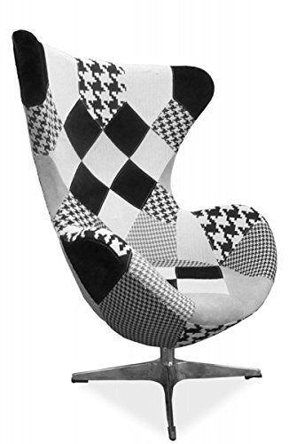 Moderner Ohrenbackensessel: Sessel 'Chalchuapa' TV-Sessel Vintage Loungesessel Ohrensessel
