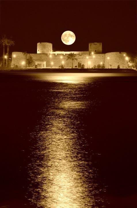 Castello di Manfredonia, Puglia, Italia
