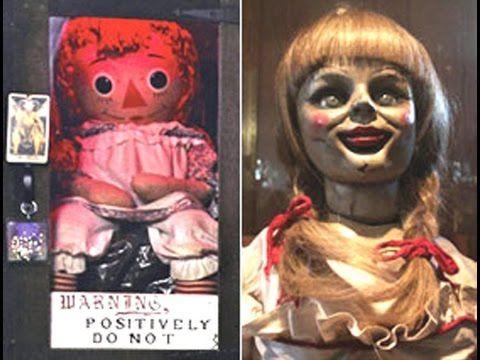 Guarda in diretta il trasferimento della bambola Annabelle dal museo dei coniugi Ed e Lorraine Warren, nello stato del Connecticut, Stati Uniti.