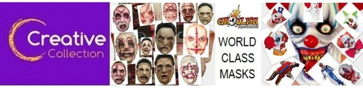 A good selection of head and neck, face mask and open masks