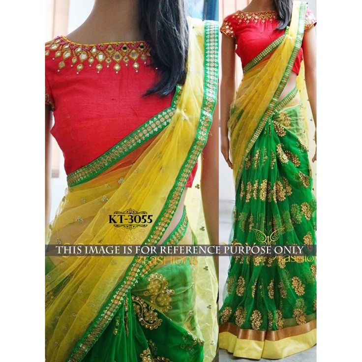 Enthralling Multi Color Party wear & Designer Saree at just Rs.1299/- on www.vendorvilla.com. Cash on Delivery, Easy Returns, Lowest Price.