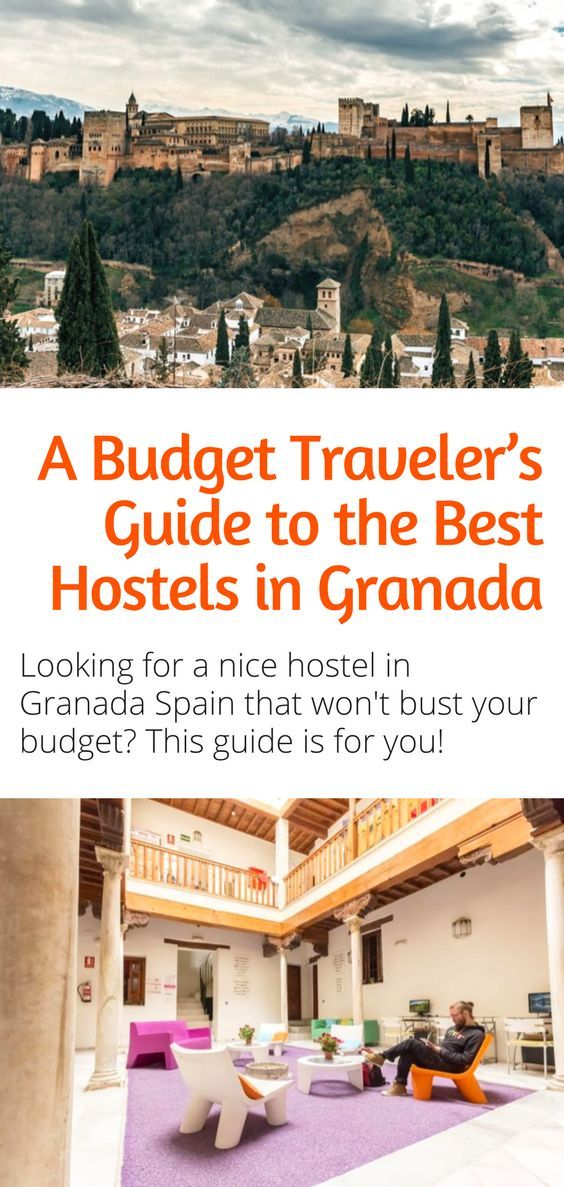 26d4662a10 Best Hostels in Granada - Are you searching for the best hostels in Granada  Spain  You ve come to the right place! Click here to save money on your  hostel ...