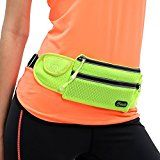 Cheap Yodo Slim-fit Light Running Fanny Pack / Waist Pouch for Cycling Gym Treadmil  Hold Iphone 5 6 Plus Samsung S5 S6