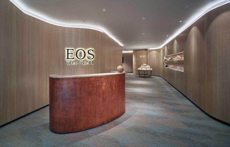 Bolon flooring in EOS Wellness Spa in Kuala Lumpur, Malaysia