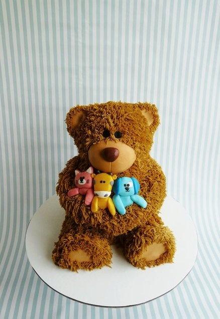 Teddy bear  Cake by HaveSomeSugar