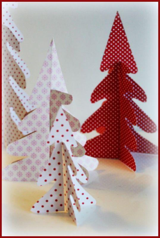 Fiffiga Systrar: Julpyssel - Granar av papper