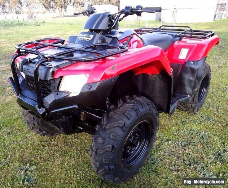 2014 Honda TRX420FM 4WD Quad Atv #honda #trx420fm #forsale #australia