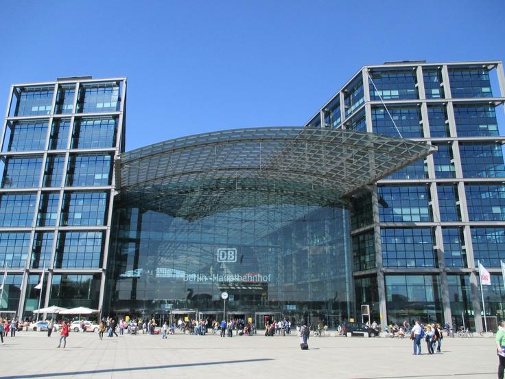 #Berlin #Central Station