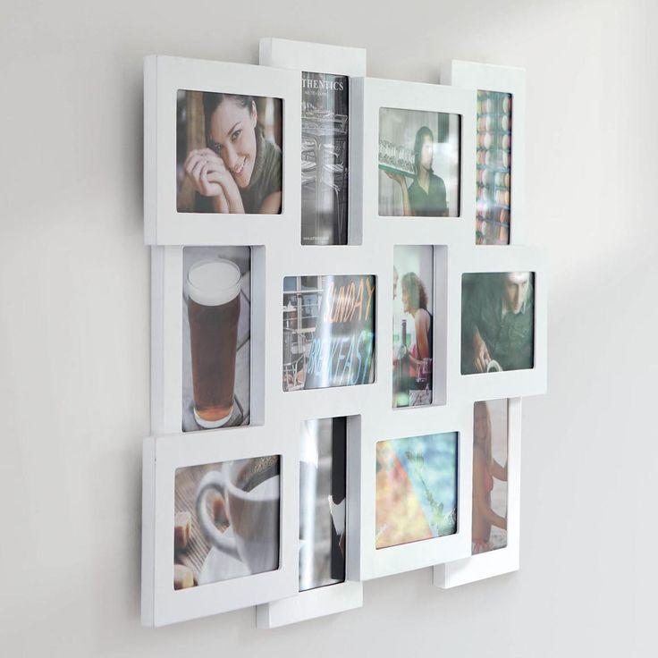 authentics studio 12 picture multi frame white - Multi Frame