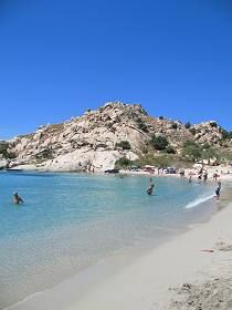 Mikri Vigla Beach, Naxos, Greece