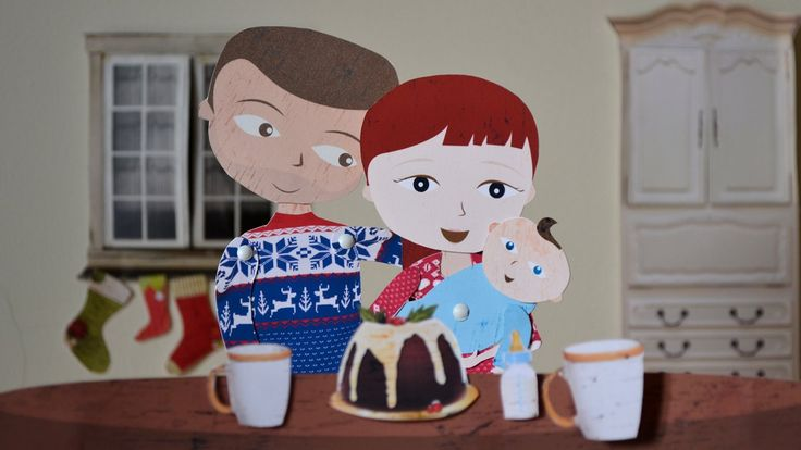 Our Christmas animation using wires, string and a whole lot of patience. It's a story about a small family with a BIG heart. Check out our work process at  http://www.colinslab.co.uk/downloads/happiness-is/#workprocess