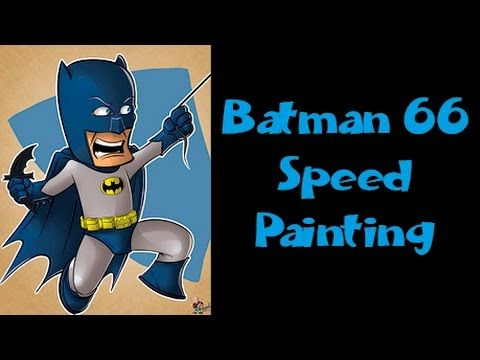 Batman 66 - Speed Painting