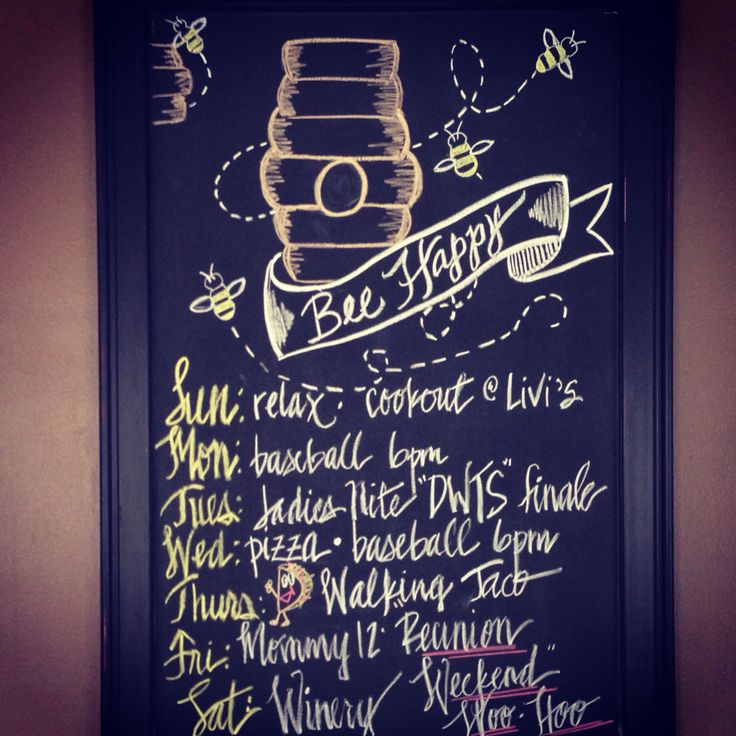 November Chalkboard Calendar Ideas : Best weekly chalkboard ideas images on pinterest