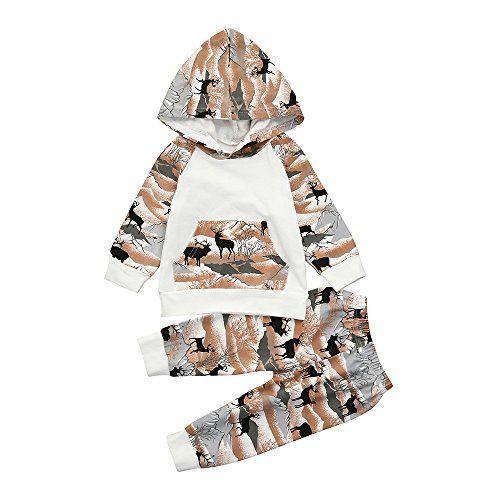 5986a000008d Yihaojia 2Pcs Clothes Set Newborn Infant Baby Boy Girl Cotton Pajama ...