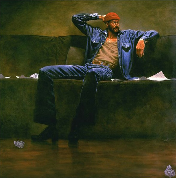 Marvin Gaye by Kadir Nelson..Missing You - Another one for the Music Room