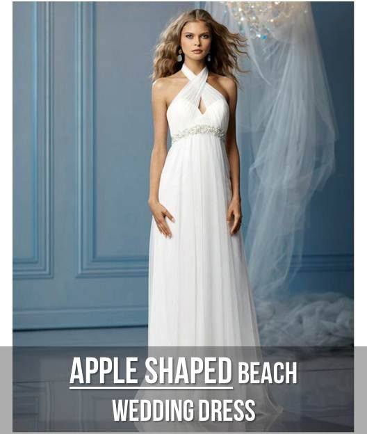 228 best fashion for the apple shaped body images on for Wedding dresses for apple shaped body