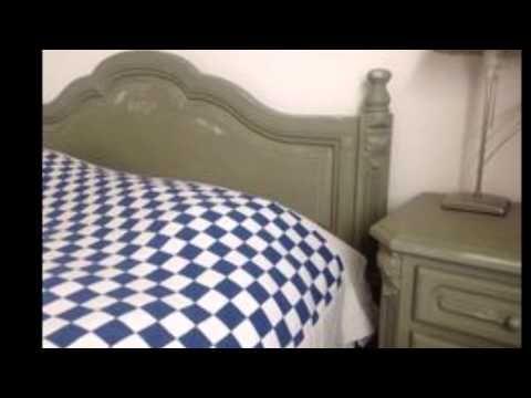 Annie Sloan krijtverf Chateau Grey voorbeeld