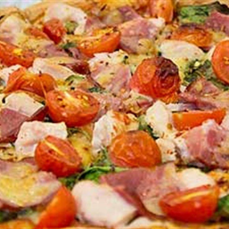 Try this Chicken Capri Pizza  recipe.