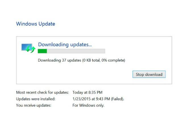How to Fix Windows Updates Stuck at 0% in Windows 10 / 8 ...