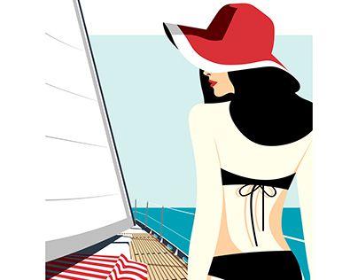 "Check out new work on my @Behance portfolio: ""Affiche Summer"" http://be.net/gallery/52866213/Affiche-Summer"