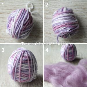 Make this cute needle felted owl, Mr. Woolly Murasaki, with this free pattern & tutorial. The owl gives a very distinguished character of it's sleepy look. - Page 2 of 2