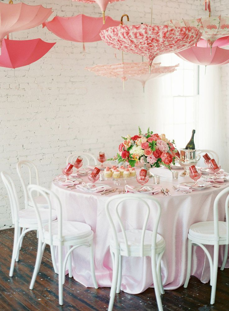 Pink Baby Shower from Karson Butler Events and Anne Robert Photography  Read more - http://www.stylemepretty.com/living/2013/06/14/pink-baby-shower-from-karson-butler-events-and-anne-robert-photography/