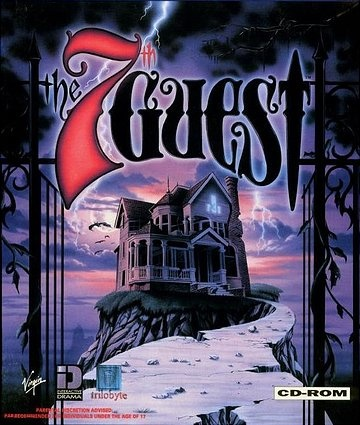 The 7th Guest - 1993. http://en.wikipedia.org/wiki/7th_Guest For The Lastest Games At The Best Prices Try Here multicitygames.com