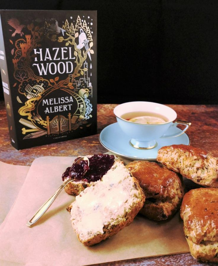 Just finished reading this dark, twisted fairytail book by Melissa Albert, and was inspired to make cheese chocolate-hazelnut scones