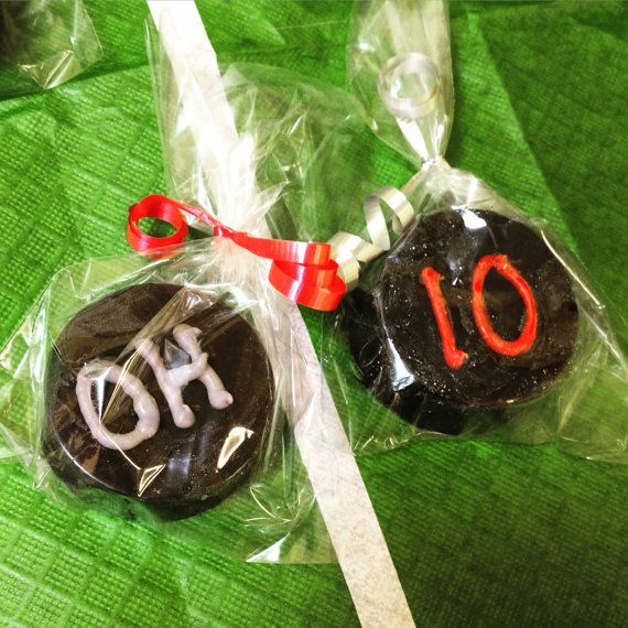 Ohio State Buckeyes Chocolate Covered Oreos