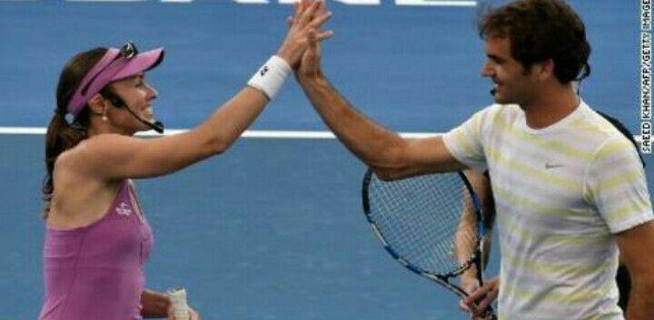Roger Federer Trending on #TrendsToday App #Facebook (India)  Roger FedererandMartina Hingisto team up for mixed doubles atThe Olympic GamesRio 2016.  #RogerFederer #MartinaHingis #teamup #mixeddoubles #Olympic #Games #Rio2016  Get App:http://trendstoday.co/install.html