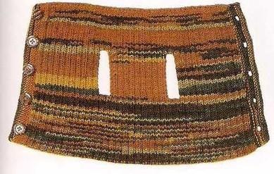 Вязаная одежда для собачек. (выкройки и схемы вязания)