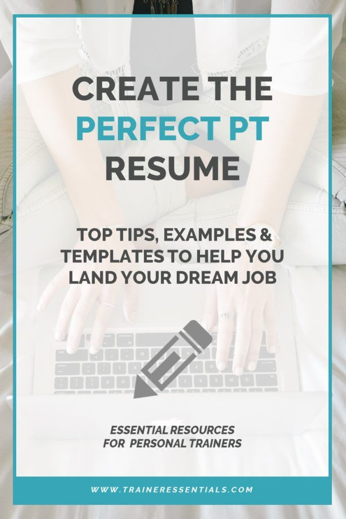 Prepare An Impressive Personal Trainer Resume By Following These Practical Tips Listin Personal Training Business Becoming A Personal Trainer Personal Trainer
