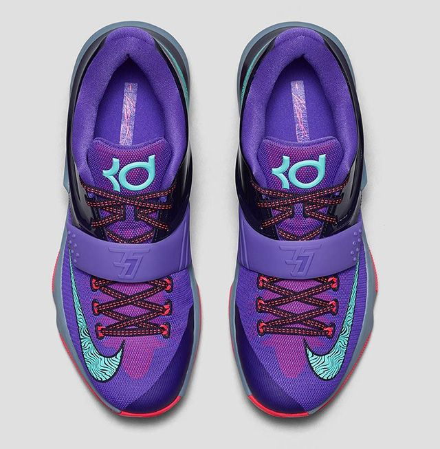 "Nike KD 7 ""Lightning 534″ Strikes Purple 