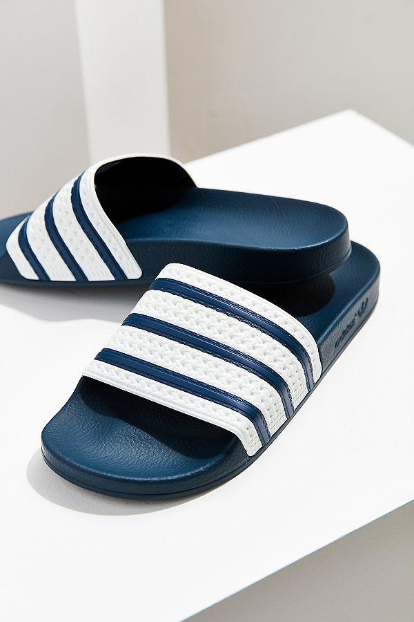 adidas Originals Adilette Slide in 2019 | Sandals, Adidas