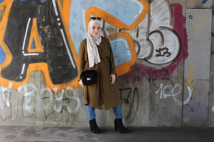 Spring is in the air. Hijab style. Modest fashion.