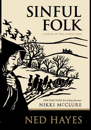 Updated book cover for SINFUL FOLK.