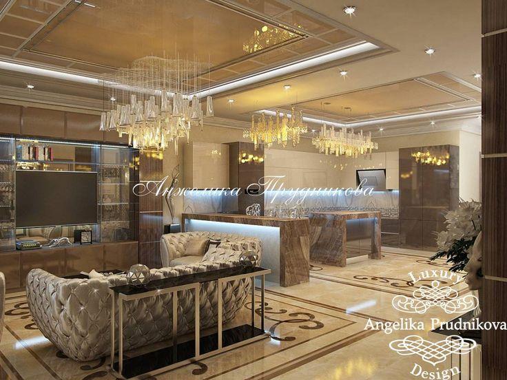 Дизайн-проект квартиры в стиле Модерн в ЖК Корона - фото