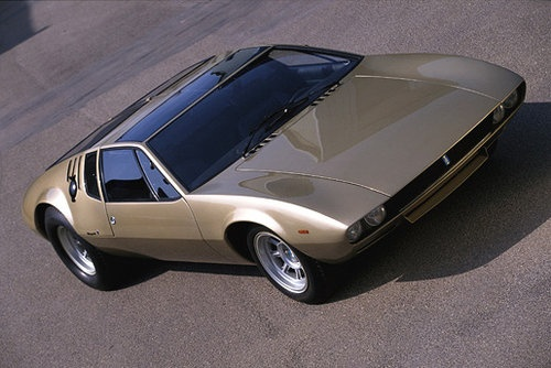 1966 - De Tomaso Mangusta.. Maintenance of old vehicles: the material for new cogs/casters/gears/pads could be cast polyamide which I (Cast polyamide) can produce