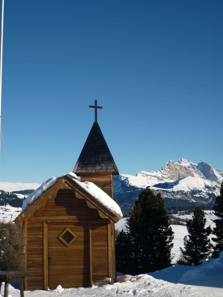 Chiesetta all'Alpe di Siusi Val Gardena