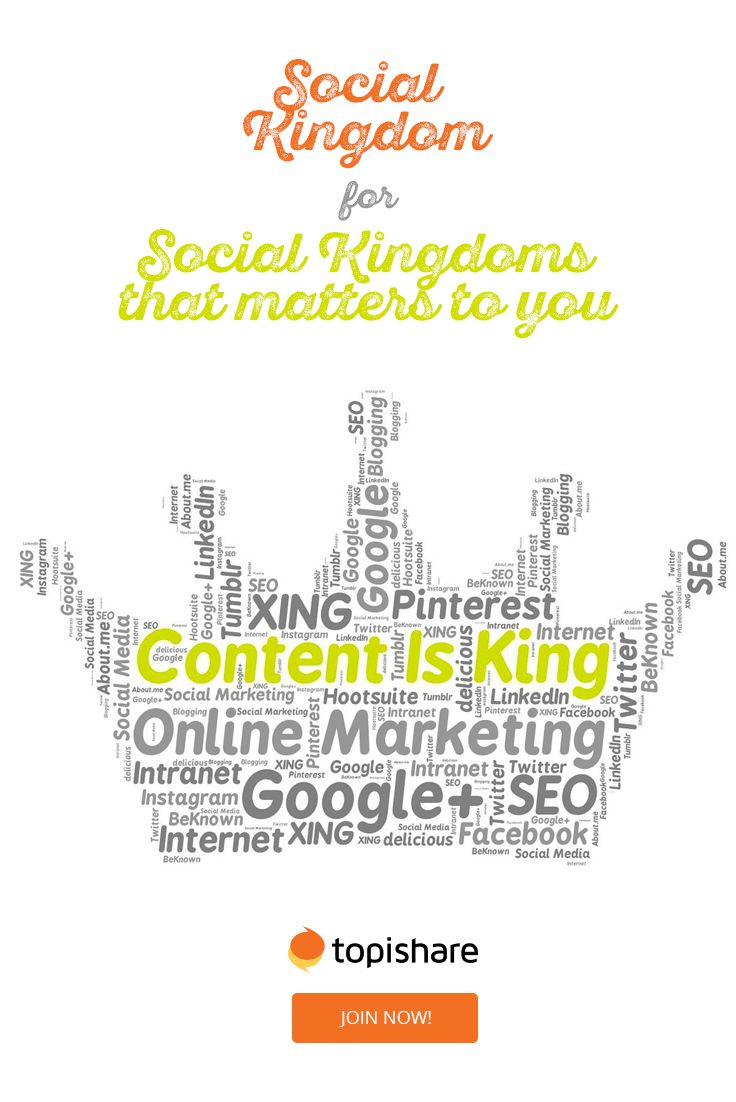 Content is king, create your kingdom! Share anything you want, the way you want with who you want. And get all the privacy you need and deserve   #SocialNetworks #SocialNetwork #SocialMedia