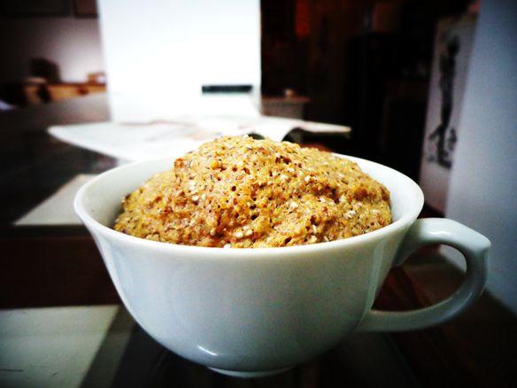 Flax-chia Breakfast Teacup Muffin