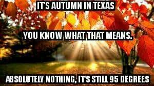 Autumn in Texas