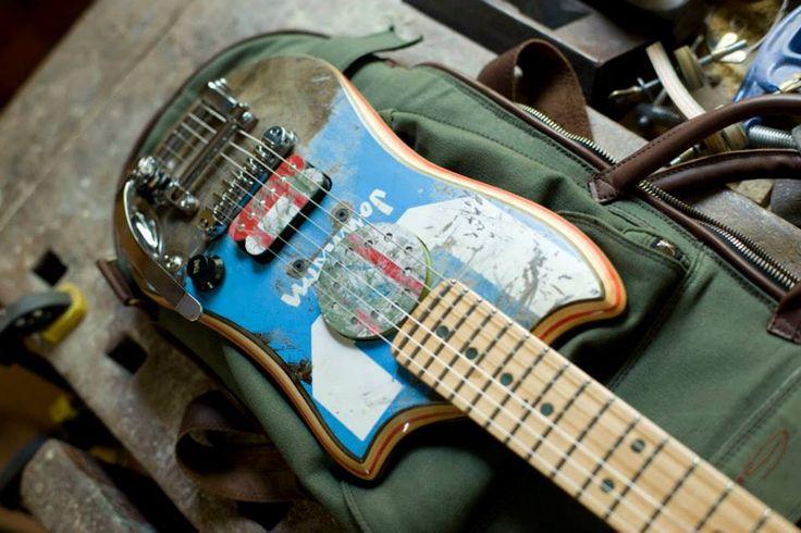Resultado de imagen para skate guitar
